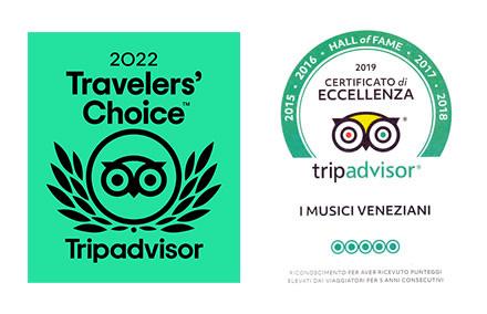 Certificato di eccellenza 2019 |  Hall of fame Tripadvisor