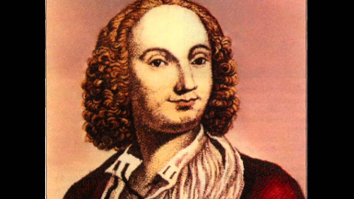 Antonio Vivaldi Portrait