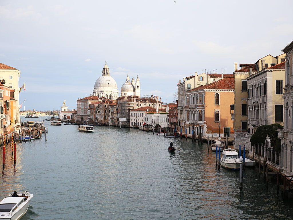 beautiful landscape of the city of venice
