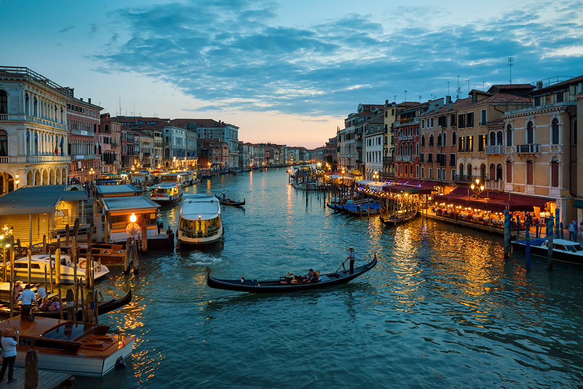 que hacer en venecia por la noche